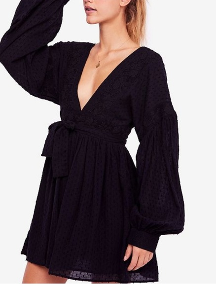 Free People Dresses & Skirts - NWT Free People Open Back Mini A-Line Dress